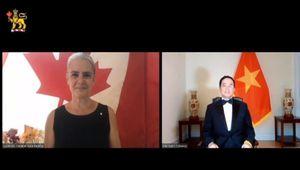 Lễ trình thư ủy nhiệm đầu tiên theo hình thức trực tuyến của Đại sứ nước ngoài tại Canada