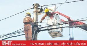 Phố thị Hồng Lĩnh thoáng đãng, văn minh nhờ chỉnh trang lưới điện theo tiêu chuẩn 5S