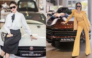 Loạt Hoa hậu mạnh tay tậu xe sang tiền tỷ chứng minh đẳng cấp đại gia giới showbiz
