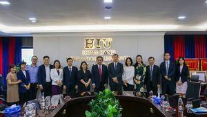 Tổng lãnh sự Nhật Bản thăm Trường Đại học Quốc tế Hồng Bàng