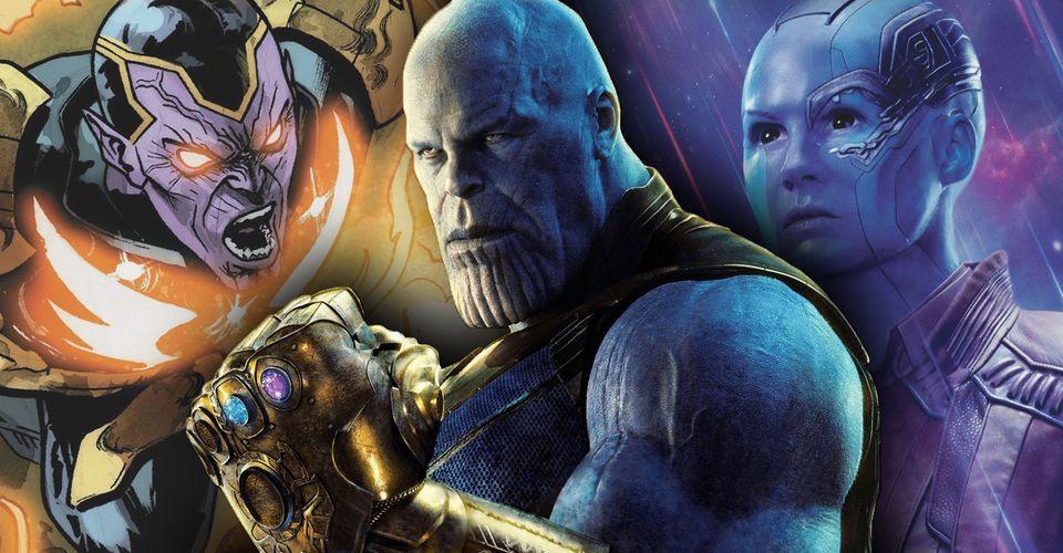 Thanos và sở thích nhận con nuôi quái đản