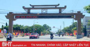 Hơn 57 tỷ đồng 'trang điểm' cho đô thị phía Bắc Hà Tĩnh
