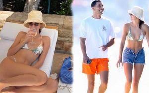 Chân dài Kendall Jenner dạo biển cùng trai đẹp khiến các fan girls mê mẩn lùng sục tìm profile