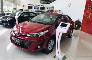 Phân khúc xe hạng B nửa đầu năm 2020: 'Ông vua doanh số' Toyota Vios tiếp tục dẫn đầu