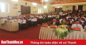 Đại hội đại biểu Đảng bộ huyện Đông Sơn lần thứ XXV: Đoàn kết - Kỷ cương - Sáng tạo - Phát triển