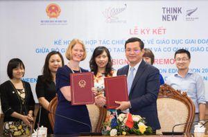 Việt Nam hợp tác chiến lược với New Zealand về giáo dục trong giai đoạn mới