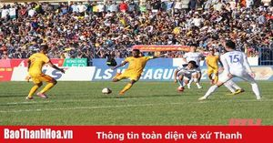 Vòng 11 LS V.League 2020: Thanh Hóa và Hoàng Anh Gia Lai chia điểm tẻ nhạt