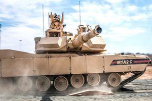 Mỹ tiếp nhận lô xe tăng M1A2C Abrams nâng cấp cực mạnh đầu tiên