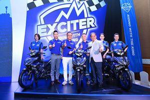 Kỷ lục 1000 xe Yamaha Exciter lăn bánh tại 'Riding with the King'