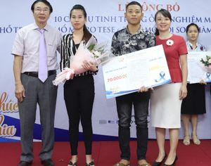 BV Nam học và hiếm muộn Hà Nội hỗ trợ 10 cặp vợ chồng khó khăn thụ tinh ống nghiệm
