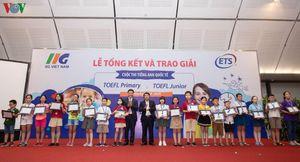 3 thí sinh giành ngôi vị Quán quân quốc gia Cuộc thi tiếng Anh TOEFL