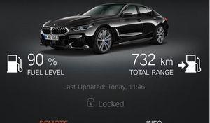 BMW ra mắt tính năng khởi động xe từ xa bằng điện thoại