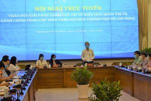 TPHCM quyết tâm cải thiện chỉ số PAPI