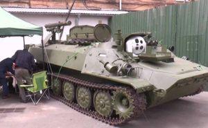 Ukraine hiện đại hóa hệ thống tên lửa chống tăng tự hành Shturm-S