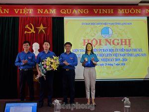 Anh Đoàn Thành Công làm Phó Chủ tịch Hội LHTN tỉnh Lạng Sơn