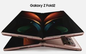 Galaxy Z Fold2 lộ diện rõ nét trước giờ G: Màn hình 'siêu to khổng lồ', 3 camera đặt dọc