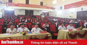 Huyện Đông Sơn phấn đấu 6 tháng cuối năm 2020 tốc độ tăng trưởng giá trị sản xuất đạt 26,9%