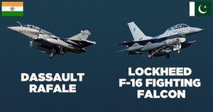 Hạm đội F-16, JF-17 của Pakistan gặp nguy trước sức mạnh Rafale từ Ấn Độ?