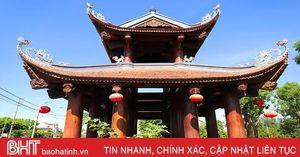 Chiêm ngưỡng cổng Tam quan có một không hai ở Hà Tĩnh
