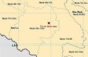 Lại xảy ra động đất ở Sơn La