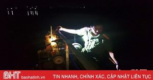 Cảnh sát Môi trường Hà Tĩnh bắt 2 vụ khai thác khoáng sản trái phép