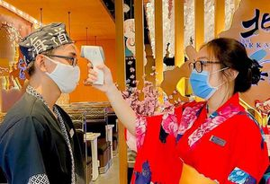 Ca COVID-19 người Nhật không liên quan Sushi Hokkaido Sachi