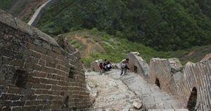 Phát hiện bia đá cổ thuộc triều Minh tại Vạn Lý Trường Thành