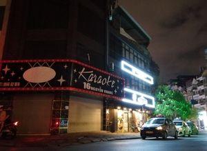 Phố karaoke nhộn nhịp bậc nhất Hà Nội 'cửa đóng, then cài' tránh dịch COVID-19