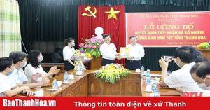 Đồng chí Mai Xuân Bình giữ chức Trưởng Ban Dân tộc tỉnh Thanh Hóa