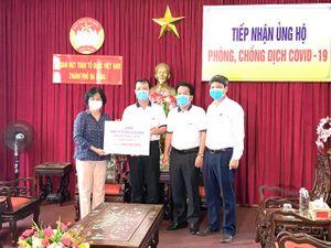 Cao su Đà Nẵng ủng hộ 01 tỷ đồng chung tay chống dịch Covid-19