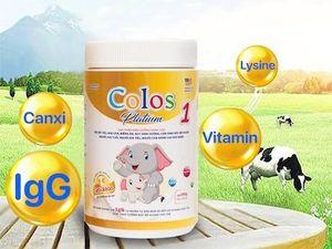 Colos Platium 1 - sữa non giàu kháng thể IgG