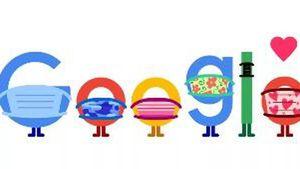 Google Doodle phát thông điệp kêu gọi người dân đeo khẩu trang