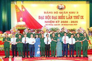Đại hội Đại biểu Đảng bộ Quân khu 3 lần thứ IX thành công tốt đẹp