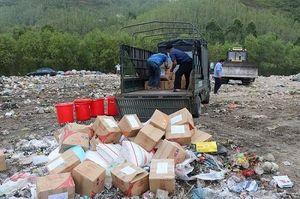 Bình Định: giám sát và tiêu hủy gần 6.000 hũ yến sào không đảm bảo chất lượng