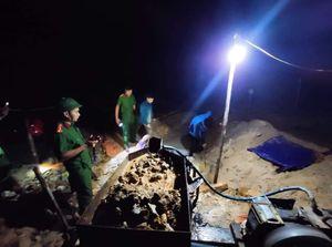 Triệt phá 2 vụ khai thác vàng trái phép ở Hà Tĩnh