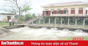 Huyện Thạch Thành: Nhiều hồ đập hư hỏng nặng, ảnh hưởng đến sản xuất nông nghiệp