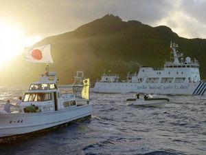 Nhật Bản 'sẵn sàng đối đầu' tàu cá Trung Quốc ở biển Hoa Đông