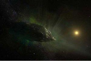 Phát hiện bất thường về 'sao chổi ngoài hành tinh'