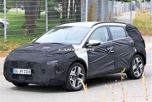 Lộ ảnh crossover nhỏ nhất của Hyundai