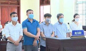 Nguyên cán bộ TP Thanh Hóa chia nhau 15 năm 6 tháng tù