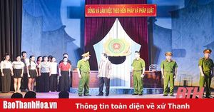 Hình tượng người chiến sĩ Công an Nhân dân qua vở chèo'Vụ án am Bụt Mọc'