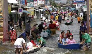 Thái Lan chi hơn 3 tỷ USD xây kênh ngăn lũ