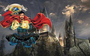 Dr. Strange từng trở thành... Hiệu trưởng của trường Hogwarts phiên bản Marvel?