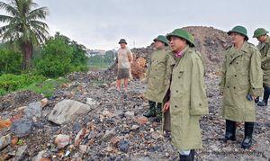 Lãnh đạo tỉnh kiểm tra tình hình mưa lũ, ngập úng