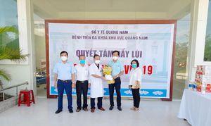 Quảng Nam có thêm 11 bệnh nhân mắc Covid-19 được xuất viện