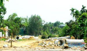 Dự án đường Chu Văn An nối dài vẫn ách tắc