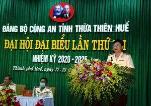 Đại hội Đảng bộ Công an tỉnh Thừa Thiên Huế lần thứ XII