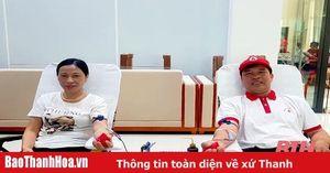 Chuyện về gia đình hiến máu tình nguyện tiêu biểu ở Nông Cống