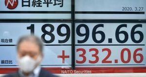 Chứng khoán Trung Quốc nhuốm đỏ, chứng khoán Nhật Bản nhích tăng
