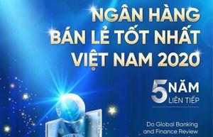 VietinBank lần thứ 5 liên tiếp nhận giải thưởng 'Ngân hàng Bán lẻ tốt nhất Việt Nam'